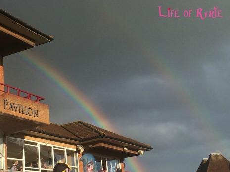 pavillion rainbow